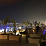 Rooftop bar at LLaut Palace Hotel Mallorca
