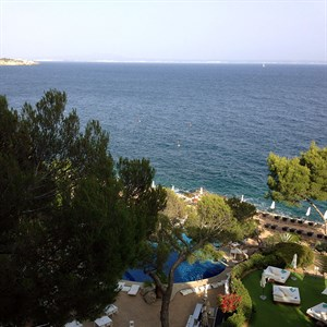 Picture: Relaxed business in Majorca at the Eurowebtainment