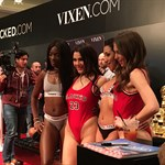 Hot babes at AVN Expo